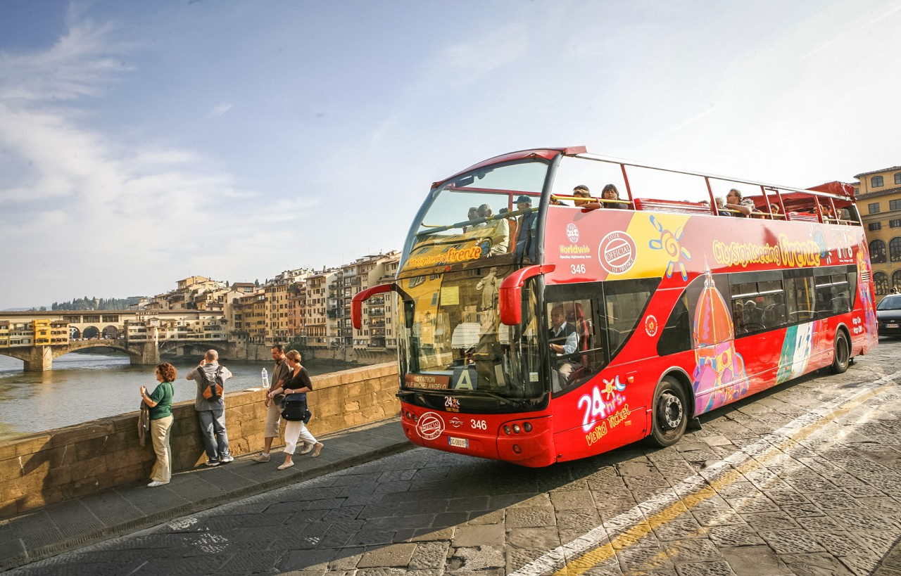 Автобус City Sightseeing Firenze