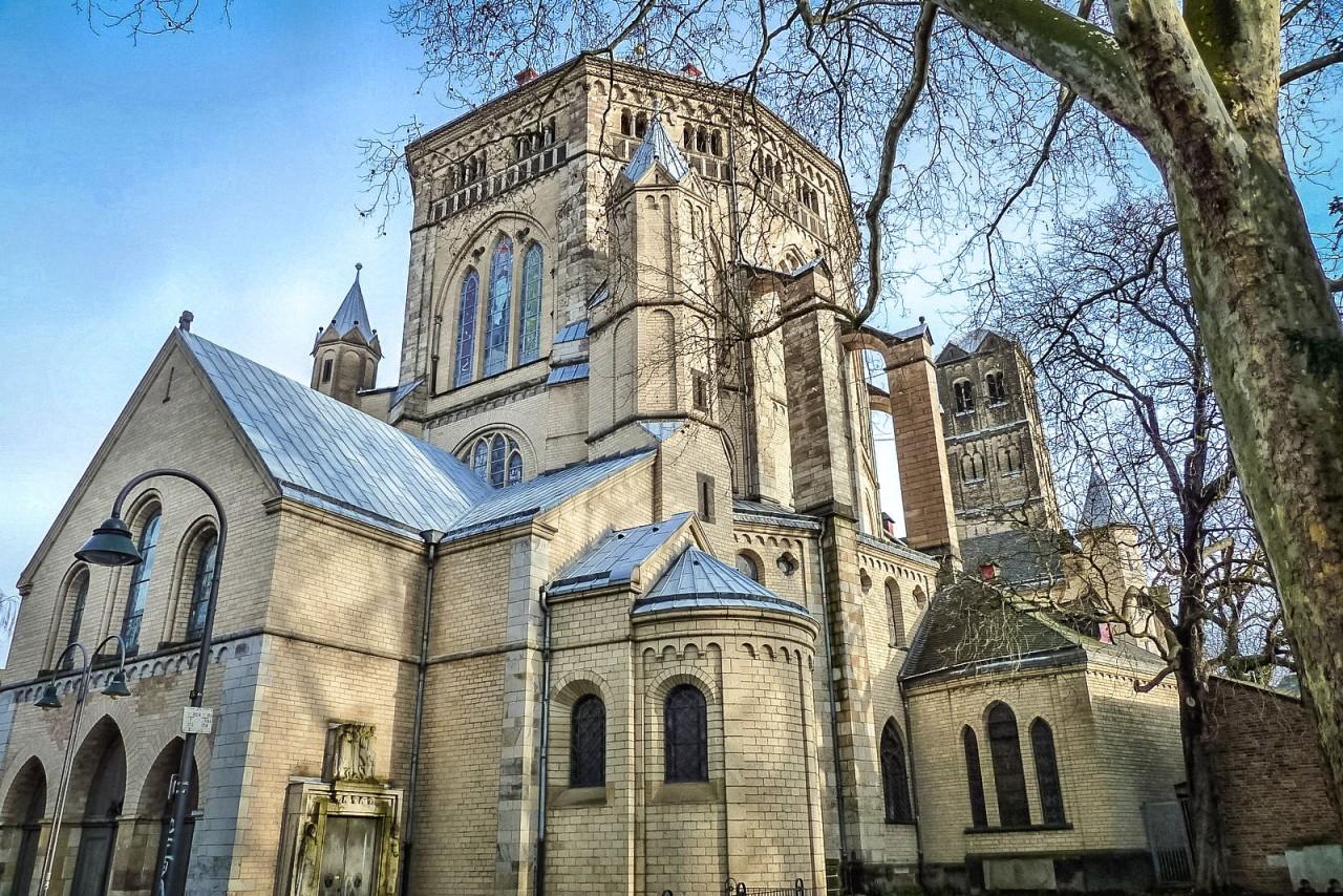 Церковь Святого Гереона – старейшее религиозное строение Кёльна