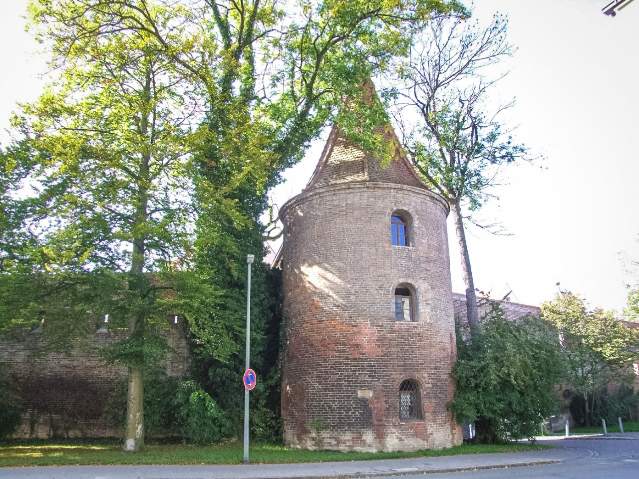 Старые городские стены