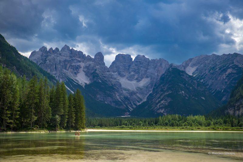 Маршрут 5 озер Доломитовых Альп