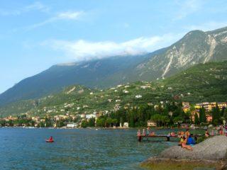 Гора Монте Бальдо около озера Гарда