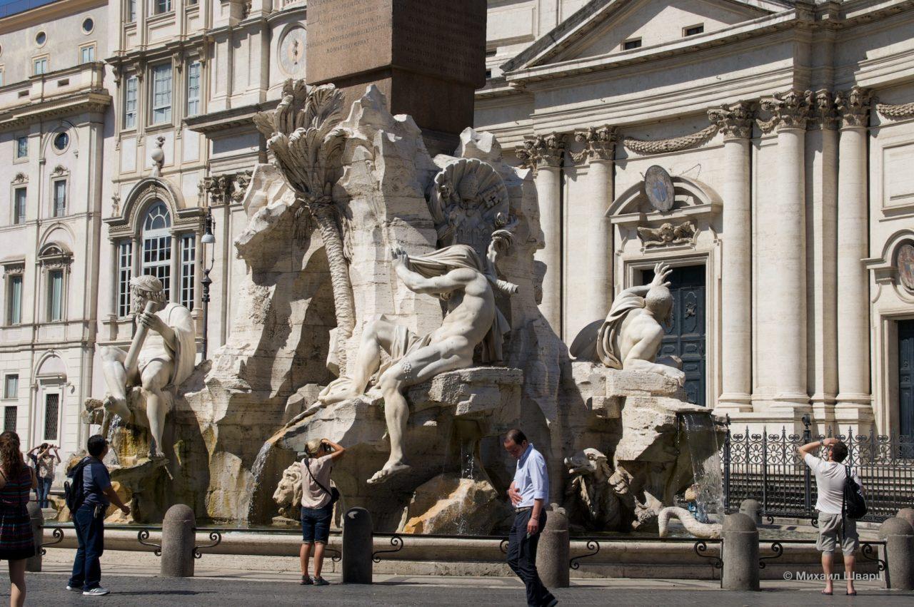 Скульптурная группа фонтана