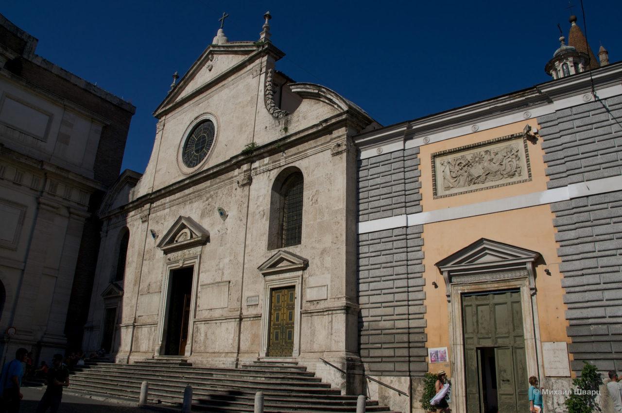 Базилика Санта-Мария-дель-Пополо (Basilica di Santa Maria del Popolo)