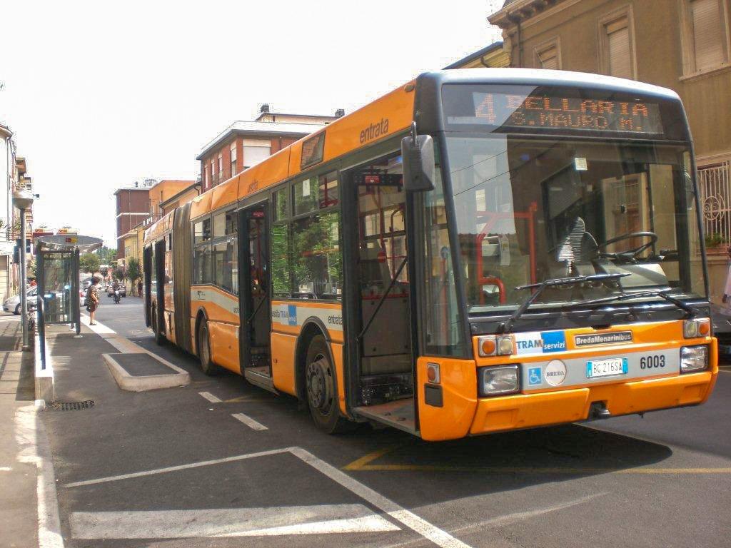 Городской транспорт Римини