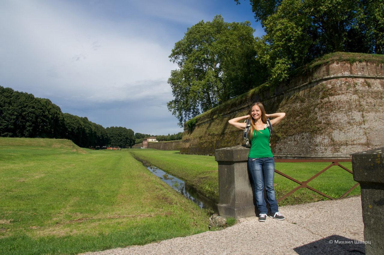Крепостная стена (Mura di Lucca)