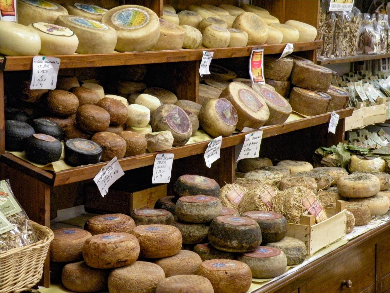 Овечий сыр Pecorino