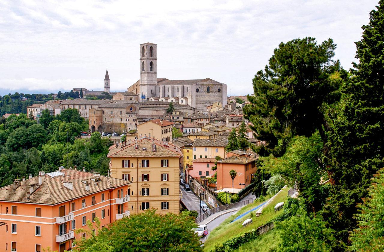 Панорама Перуджи