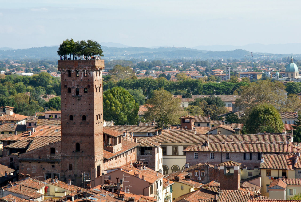 Башня Гуиниджи (Torre Guinigi)