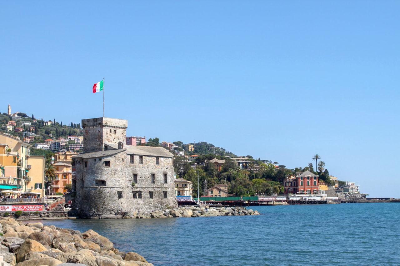 Рапалло, Старая крепость на море (Antico Castello sul mare)