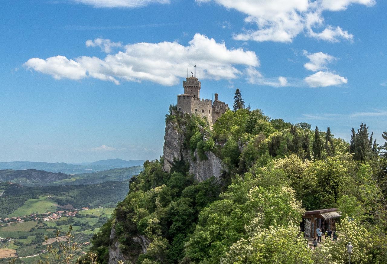 Башня Гуаита в Сан-Марино