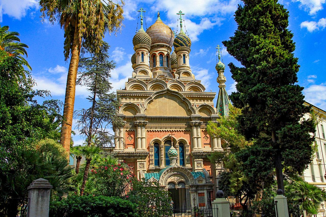 Церковь Христа Спасителя, Екатерины и Серафима Саровского (Chiesa Russa, o del Cristo Salvatore)