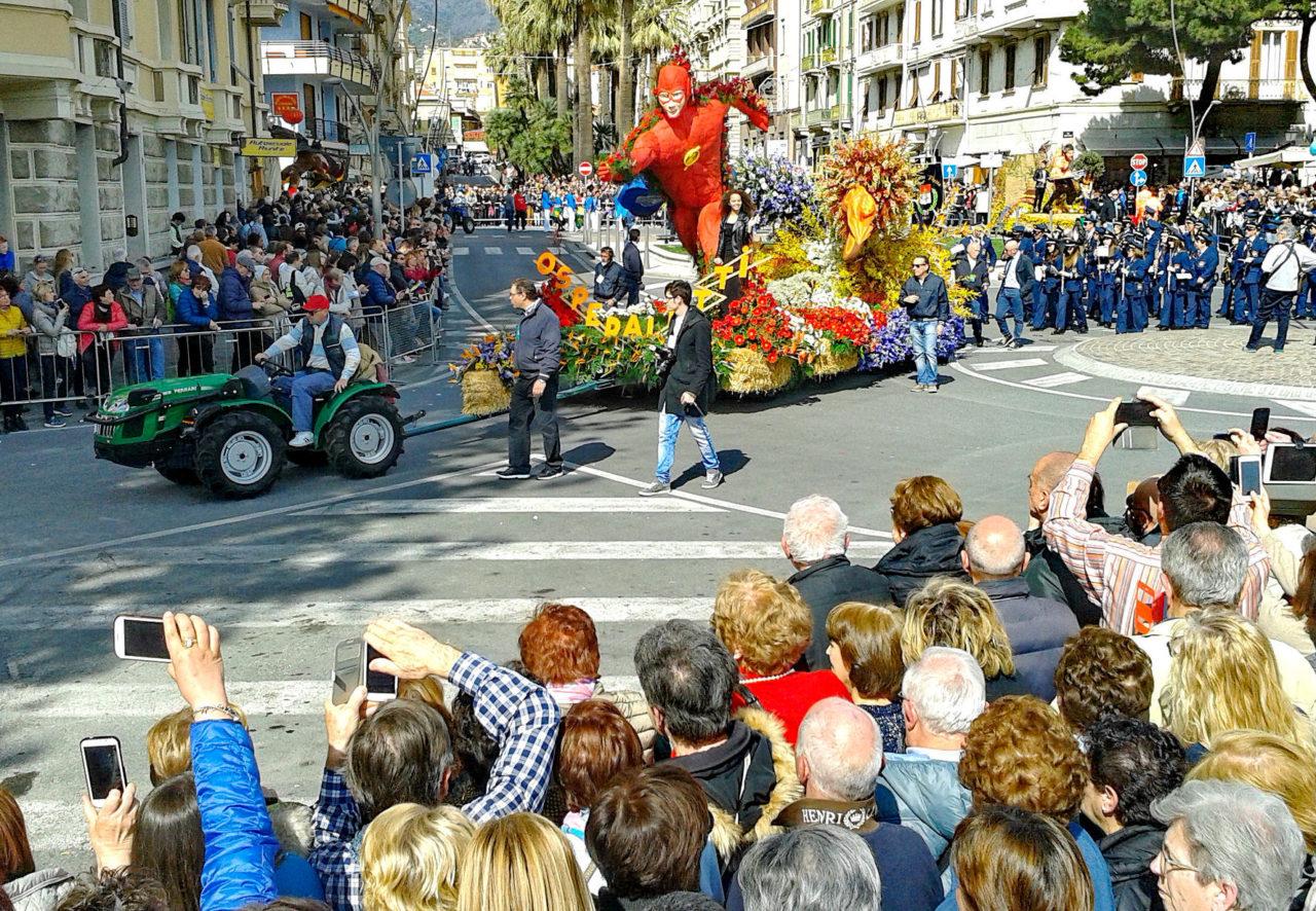 Парад Цветов (Sanremo in Fiore)