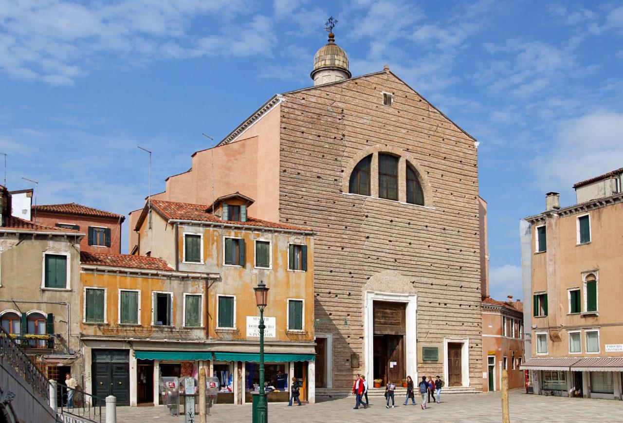 Церковь Святого Пантелеймона (Chiesa di San Pantalon)