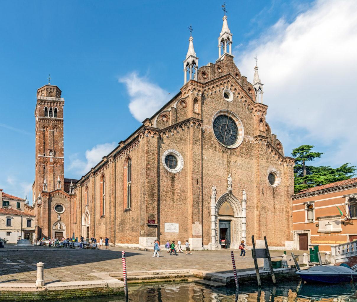 Санта-Мария-Глориоза-деи-Фрари(Chiesa Santa Maria Gloriosa dei Frari)