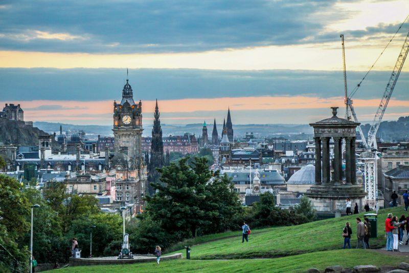 Эдинбург. Великобритания